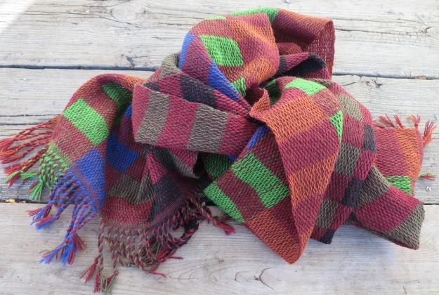 brun sjal