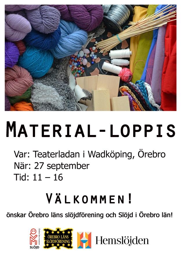 Materialloppis flyer 2