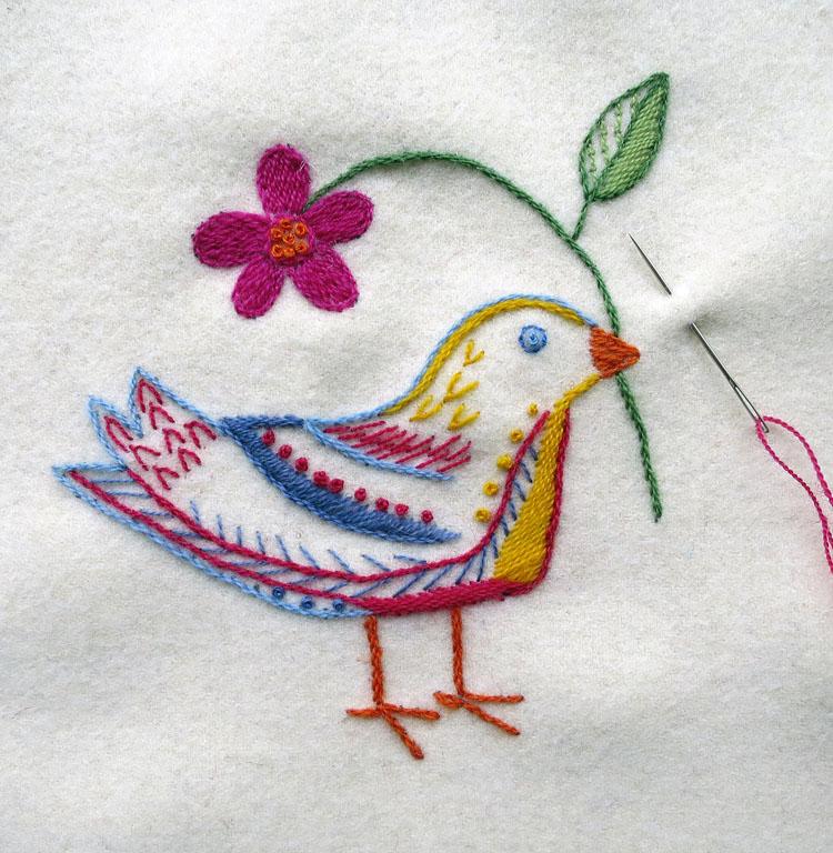 fågel vit 2